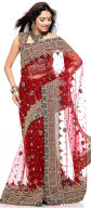Wholesale embroidery saree
